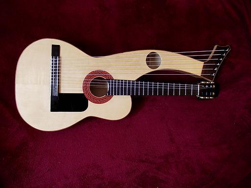 Harp guitar Cypress & Spruce | Gard | Sean Woolley Luthier Harp Guitar