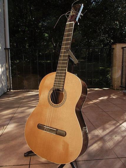 Flamenco classical guitar