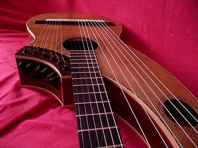 Harp-guitar-18-string | Gard | Sean Woolley Luthier Harp Guitar