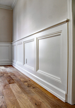 Custom wainscoting