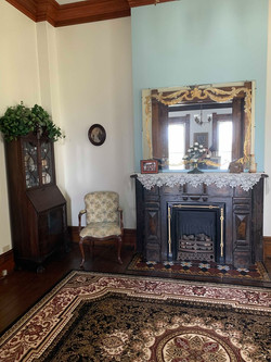 One of our many beautiful fireplaces