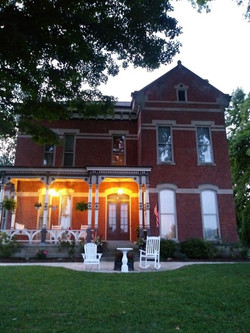 Night View Of The Mansion