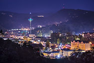 Gatlinburg, Tennessee in the Smoky Mount