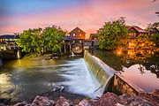 Pigeon Forge Tennessee TN Old Mill at Su
