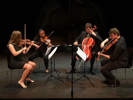 Stringwood college quartet