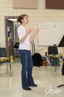 Liz talks about making it!