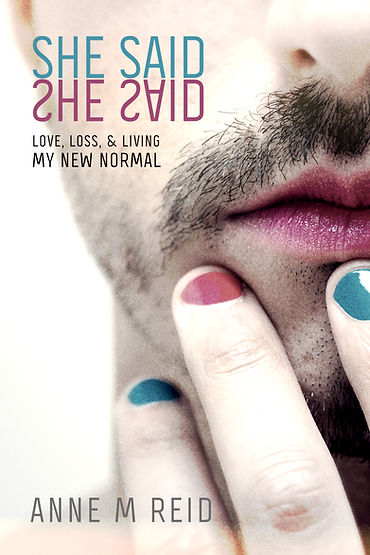 Front cover of the memoir She Said She Said