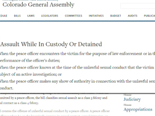 Bill aims to close 'loophole' in law involving sexual assault while in custody or detained