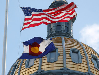 Reports of shots fired outside the Colorado State Capitol amid protests over the death of George Flo