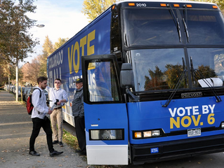 Democrats' campaign bus tour sets stops in Denver metro area Monday