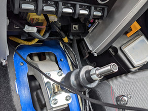 Switching to the short shifter in Subaru BRZ