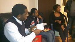 Executive members of Kyaghanda UK