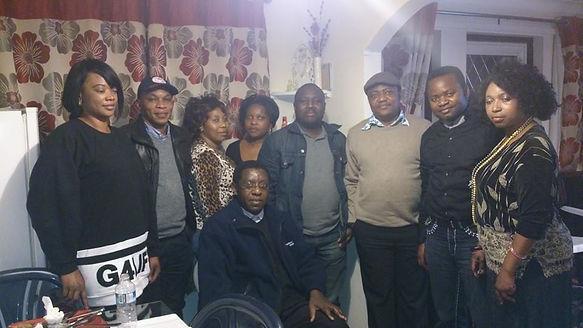 Members of the Kyaghanda UK