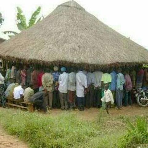A gathering of members in Kyaghanda