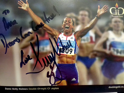Believe It Coaching/photos/Dame Kelly Holmes Athens 2004