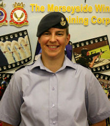 Believe It Coaching/photos/Anna as a Warrant Officer with RAF Air Cadets