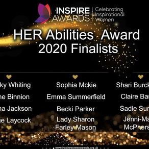 Finalist in the Inspire Women Awards