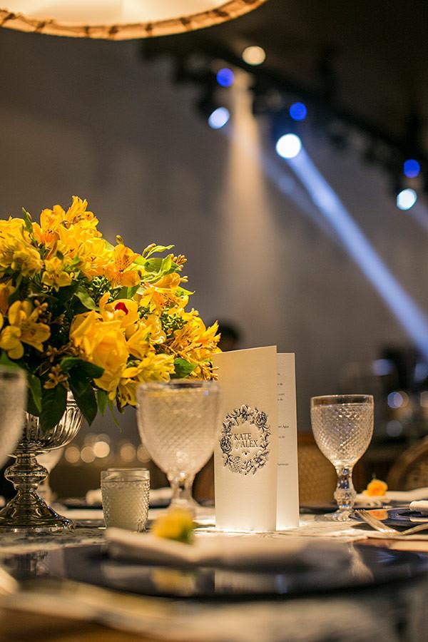 Decoração de Casamento Amarelo e Azul | Vila Verico | Weddingg Blog de Casamento | Noiva | Casamento