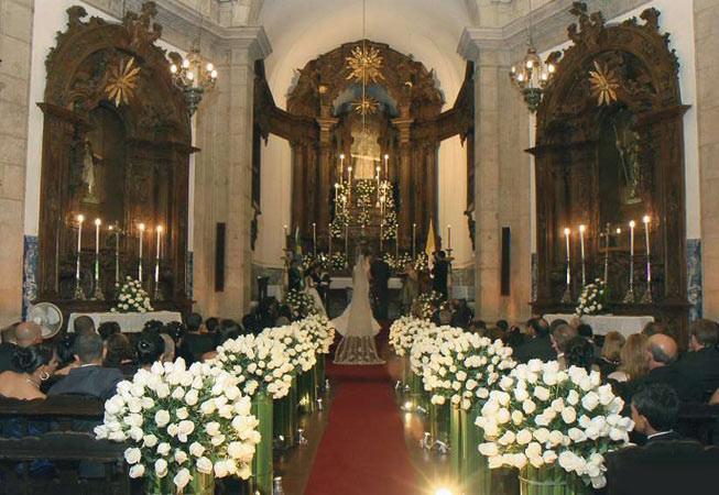 Casamento na Igreja Outeiro da Glória
