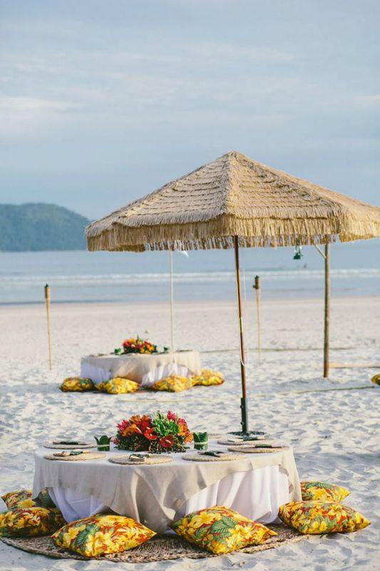 Decoração de Casamento Praia | Mara Perez |  Weddingg Blog de Casamento | Noiva | Casamento