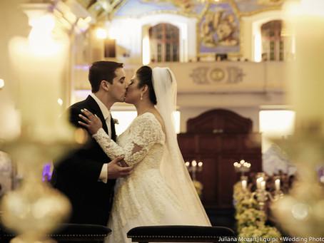 Casamento Clássico: Silmara e Arthur na Casa Petra
