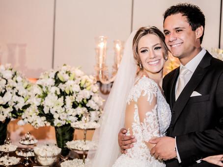 Casamento Clássico: Luiza e Thiago no Espaço Trivento