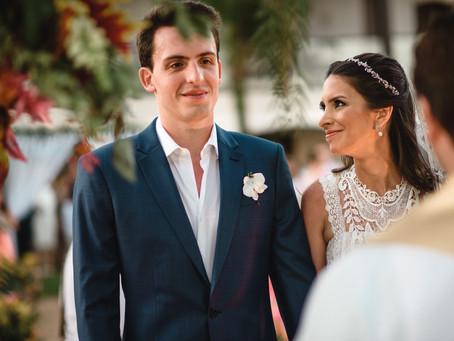 Casamento na Praia: Barbara e Rodolfo