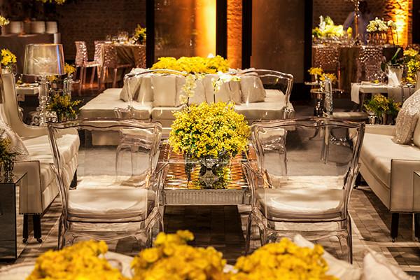 Decoração de Casamento Amarelo   Contemporaneo 8076   Weddingg Blog de Casamento   Noiva   Casamento