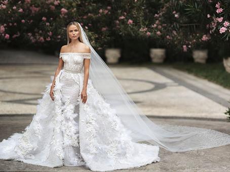 Coleção de Vestidos de Noiva Versace