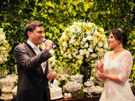 Casamento Clássico: Carol e Marcos no Hotel Tivoli Mofarej