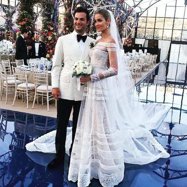 Casamento Famoso: Ana Beatriz Barros e Karim El Chiaty