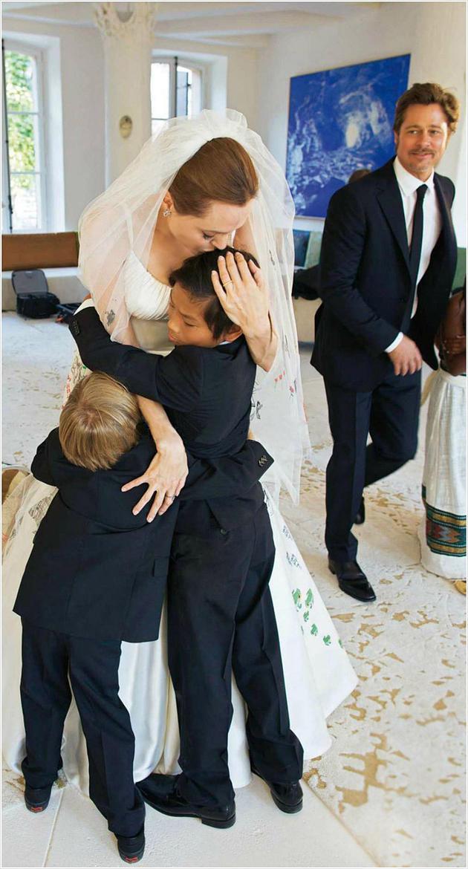 Angelina Jolie e Brad Pitt  | Casamento | Blog de Casamento | Weddingg | Noiva