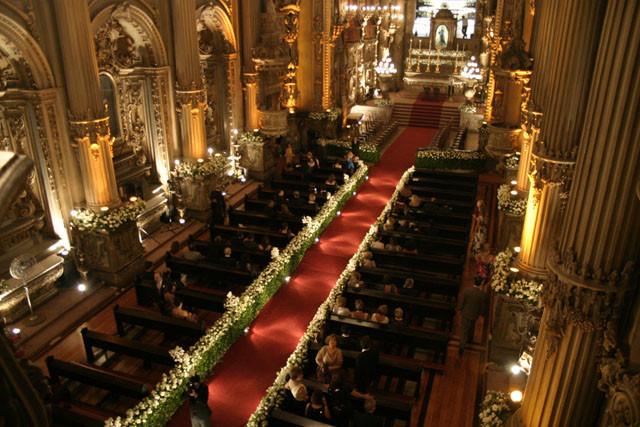 Casamento na Igreja São Francisco de Paula