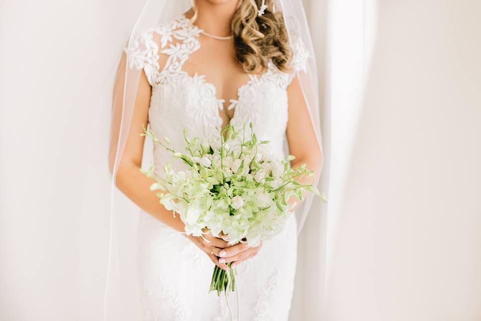 Bouquets de Noiva Brancos