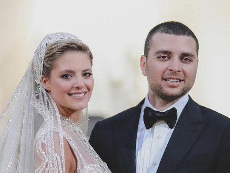 Famous Wedding: Elie Saab Jr. and Christina Mourad