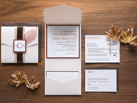 Rustic Wedding Invitation; check out the current models to inspire you