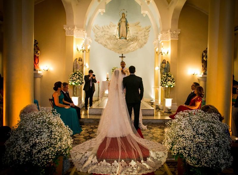 Casamento na Igreja Nossa Senhora das Graças em Botafogo