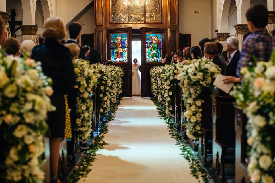 Casamento na Igreja Sao José do Jardim Europa