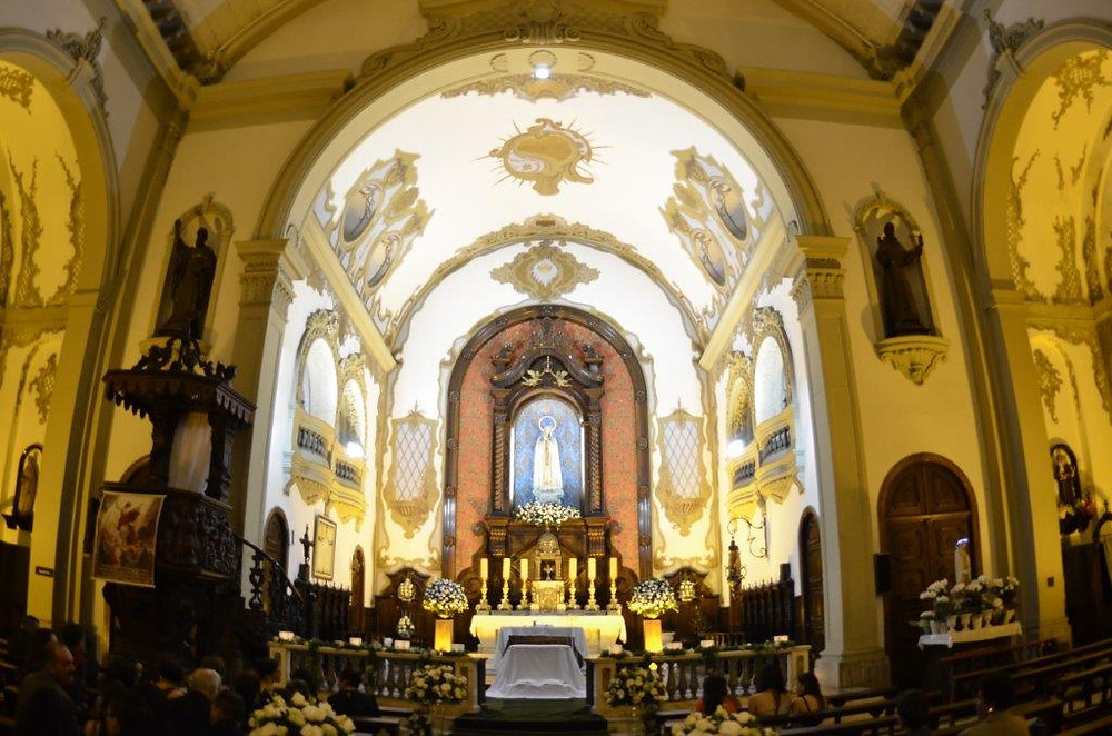 Casamento na Igreja Santuário Nossa Senhora de Fátima