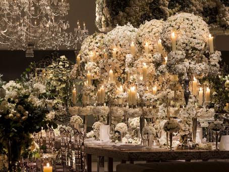 Decoração de Casamento Branco na Casa Fasano por Nina Nassar