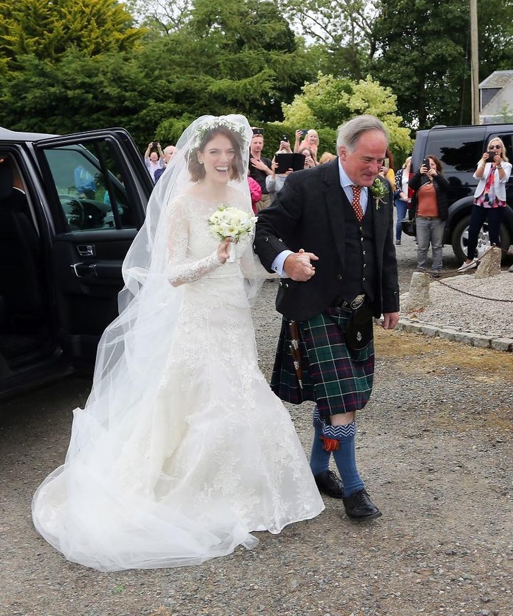 Berühmte Hochzeit: Rose Leslie und Harington Kit