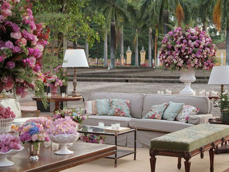 Trends for Romantic wedding decoration
