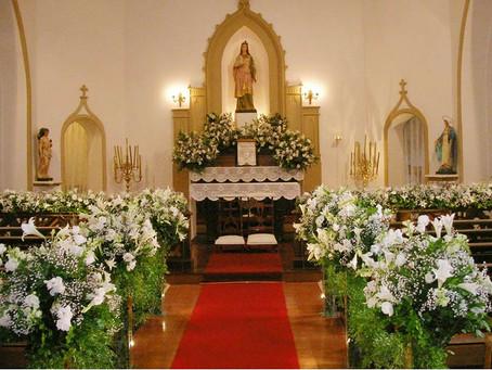 Casamento na Igreja Santa Ignez na Gávea; regras e procedimentos
