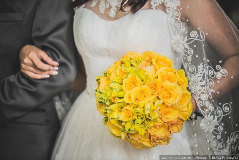 Bouquets de Noiva Amarelos