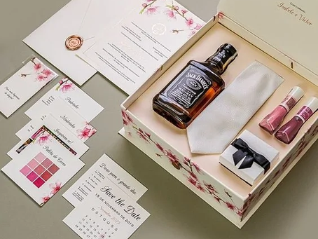 Invitations for best Man and Bridesmaid