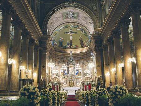 Casamento na Igreja Sagrado Coração de Jesus, regras e procedimentos
