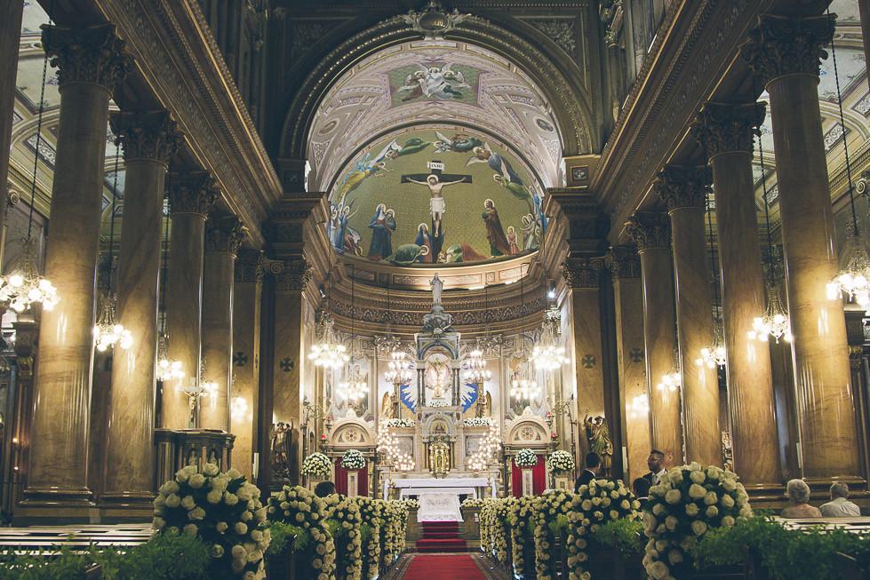 Casamento na Igreja Sagrado Coração de Jesus