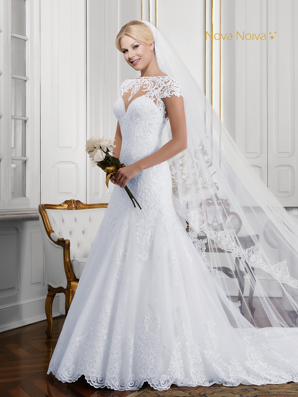 Vestido de Noiva   Véus e Mantilhas   Casamento   Blog de Casamento   Nova Noiva    Desfiles de Vestidos de Noiva