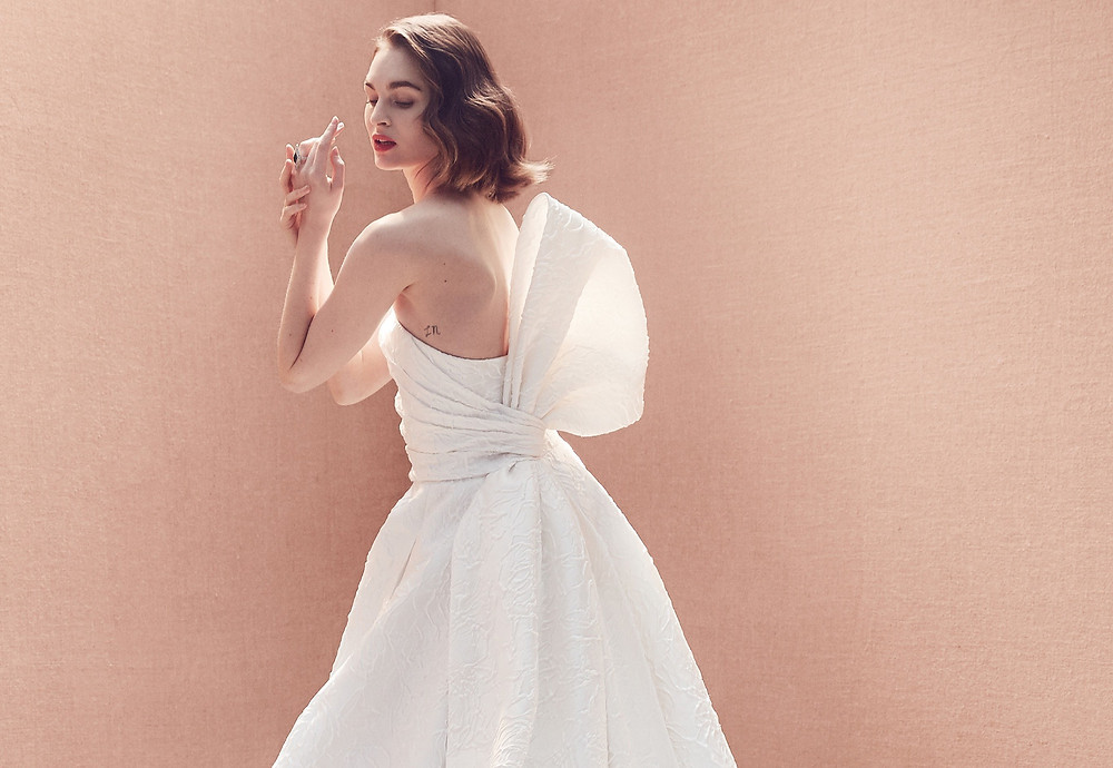 Vestido de Noiva Oscar de la Renta