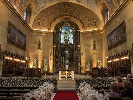 Casamento na Basílica Nossa Senhora do Carmo, regras e procedimentos